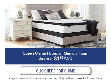 Queen Chime Hybrid or Memory foam